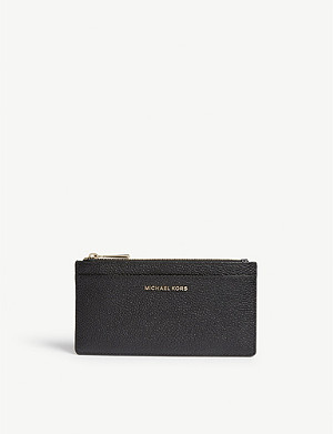 MICHAEL MICHAEL KORS Large slim leather card holder