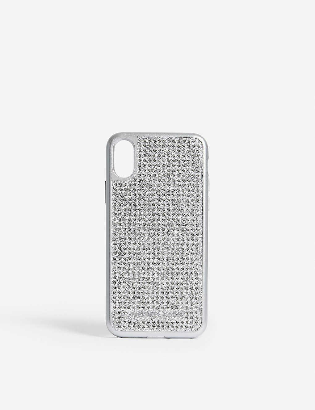 f4ee1da906c50c MICHAEL MICHAEL KORS - Glitter iPhone X case | Selfridges.com