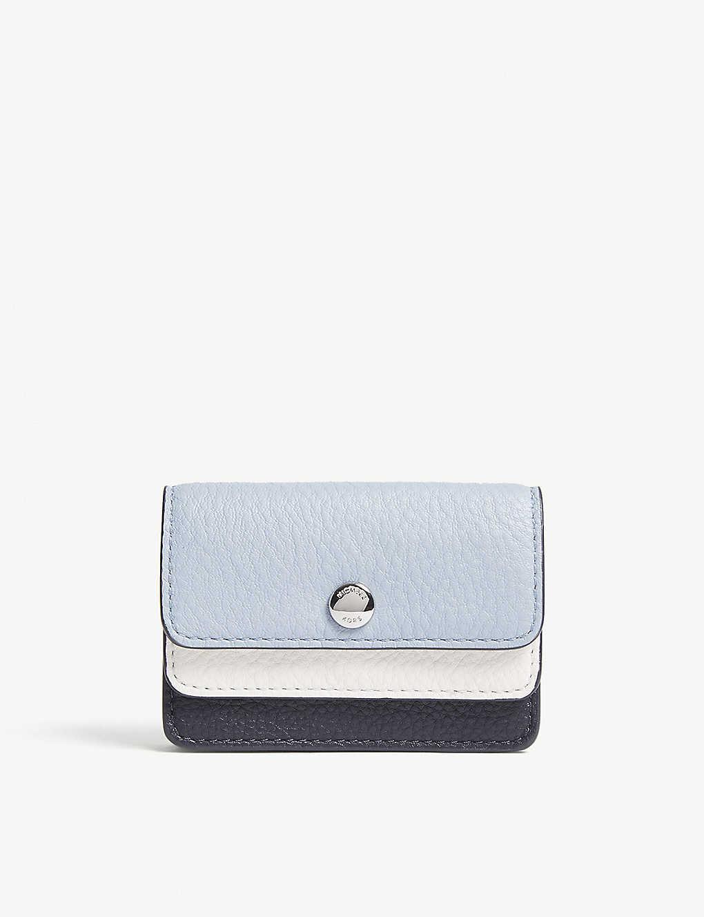 506b6f2d44e689 MICHAEL MICHAEL KORS - Money Pieces double-flap small leather card ...