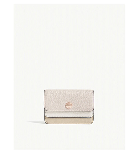 918e168177a93f ... MICHAEL MICHAEL KORS Money Pieces double flap small leather card case  (Oat/sfp/. PreviousNext