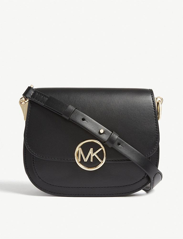 e3a40192e75 MICHAEL MICHAEL KORS - Lillie small leather saddle bag | Selfridges.com