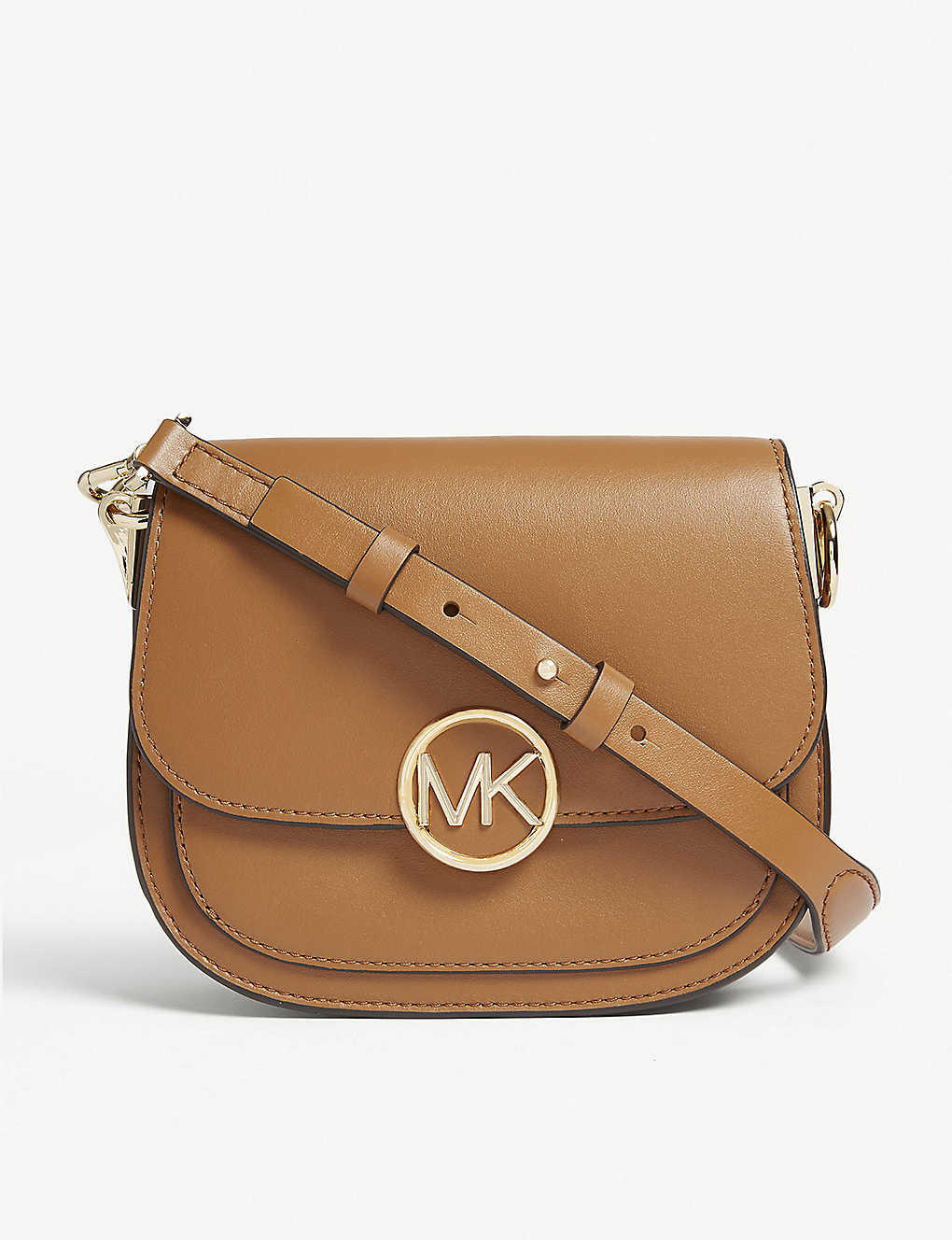9dbb23dd0a09 MICHAEL MICHAEL KORS - Lillie small leather saddle bag | Selfridges.com