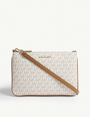 MICHAEL MICHAEL KORS Leather cross-body bag