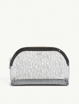 MICHAEL MICHAEL KORS Branded PVC wash bag