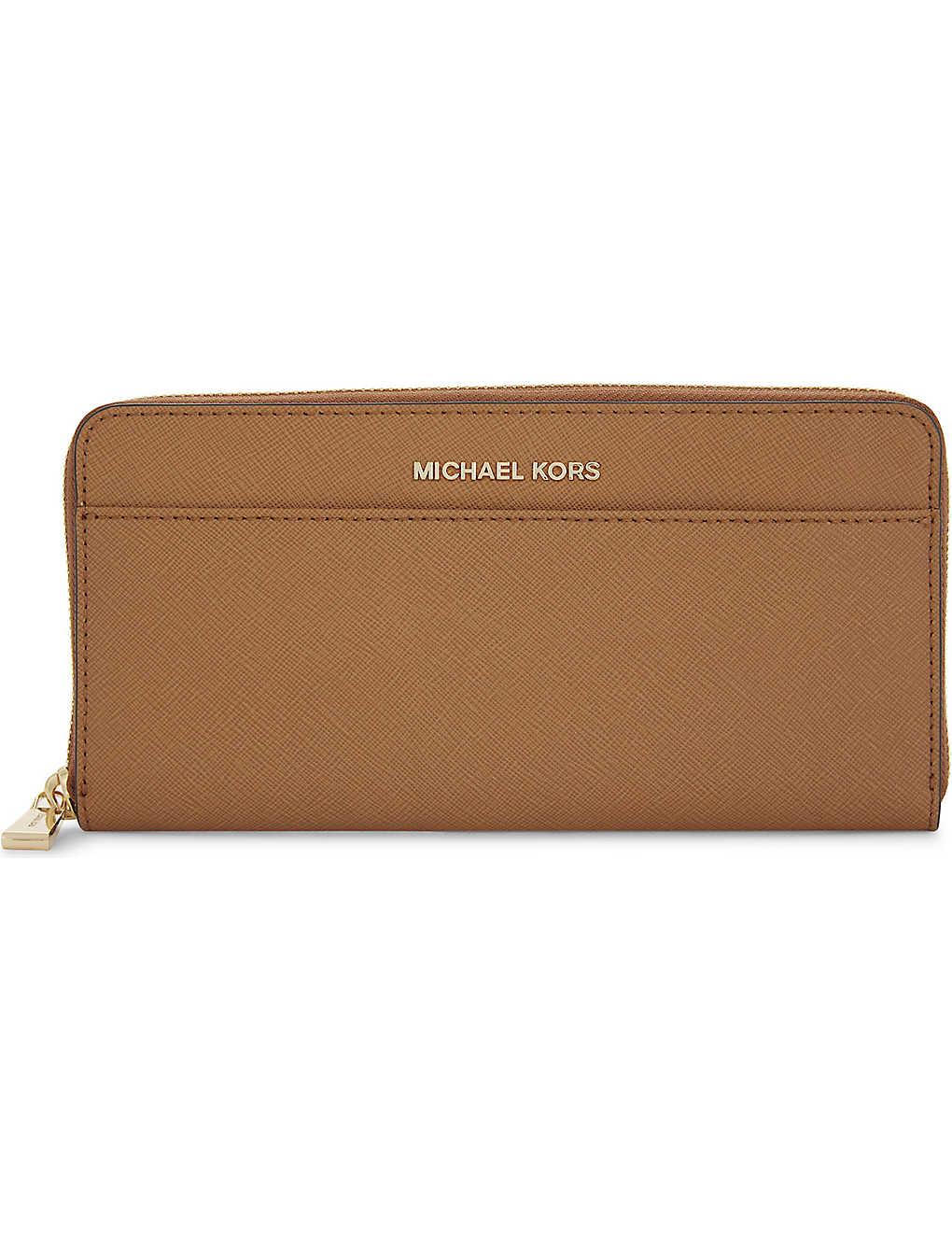 7ae189937736 MICHAEL MICHAEL KORS - Jet Set leather continental wallet ...
