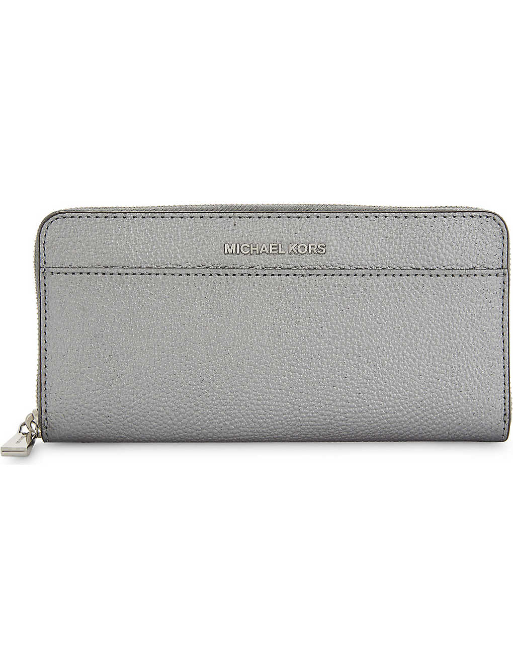 b99c66e41dc73d MICHAEL MICHAEL KORS - Mercer Continental metallic leather wallet ...