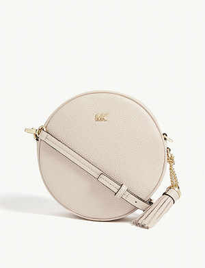 MICHAEL MICHAEL KORS Canteen leather cross-body bag