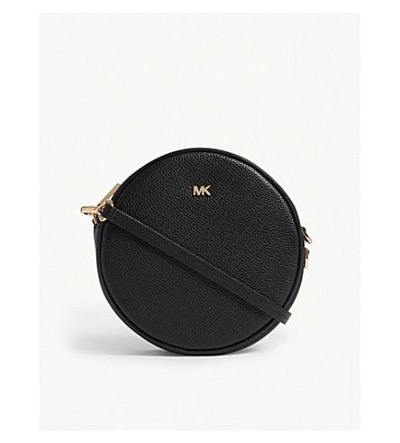 ... MICHAEL MICHAEL KORS Canteen leather cross-body bag (Black. PreviousNext fc555d6a2edce