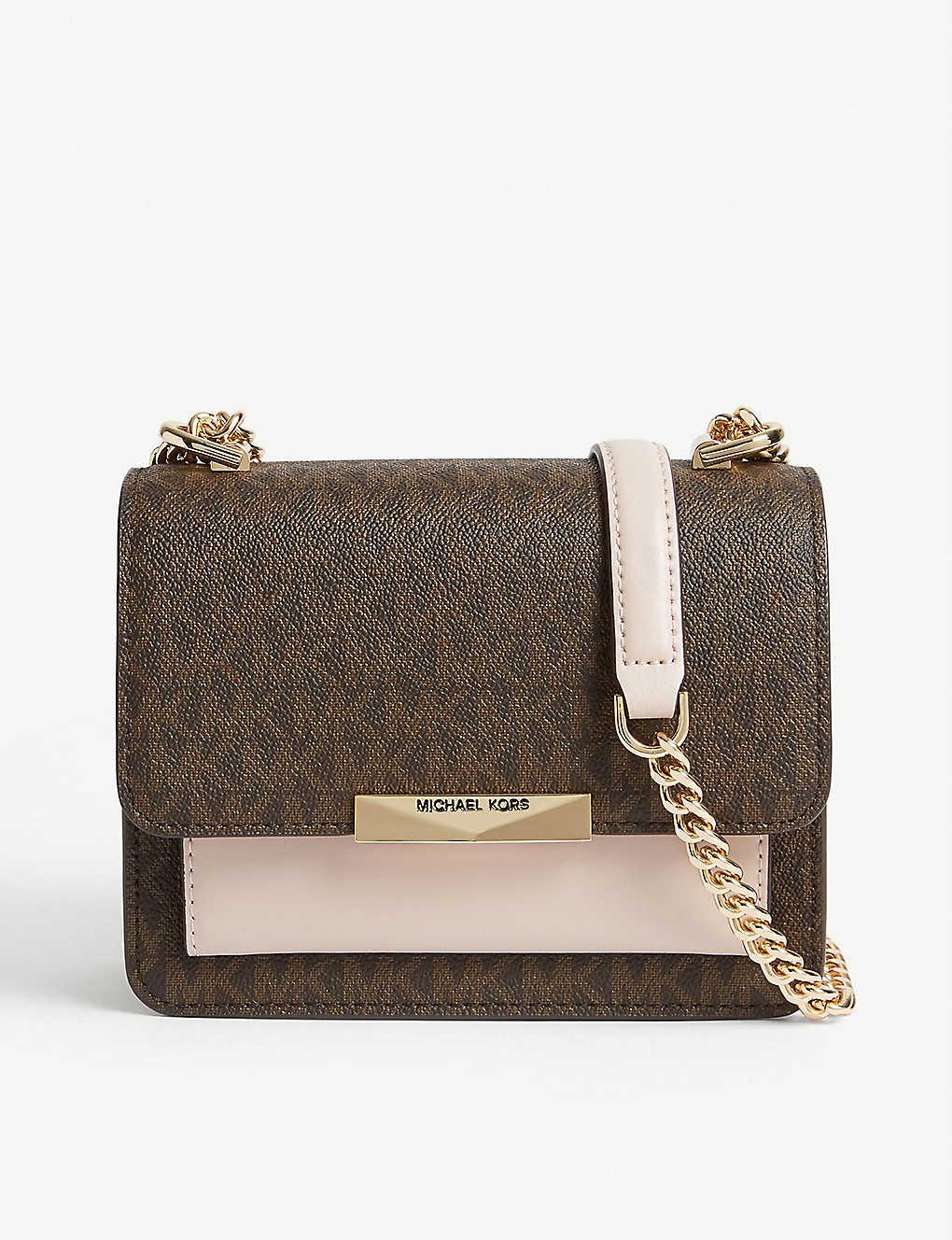 MICHAEL MICHAEL KORS Jade mini leather shoulder bag