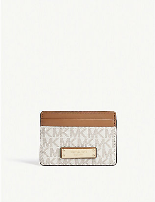 MICHAEL MICHAEL KORS: Jet Set branded card holder