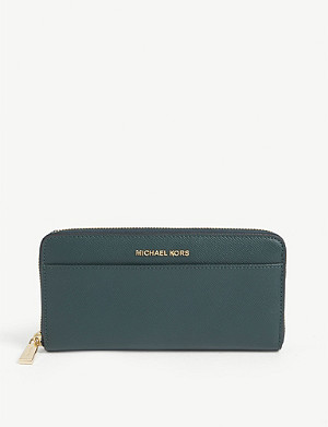 MICHAEL MICHAEL KORS Jet Set leather wallet