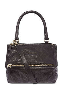 GIVENCHY Pandora small washed leather satchel