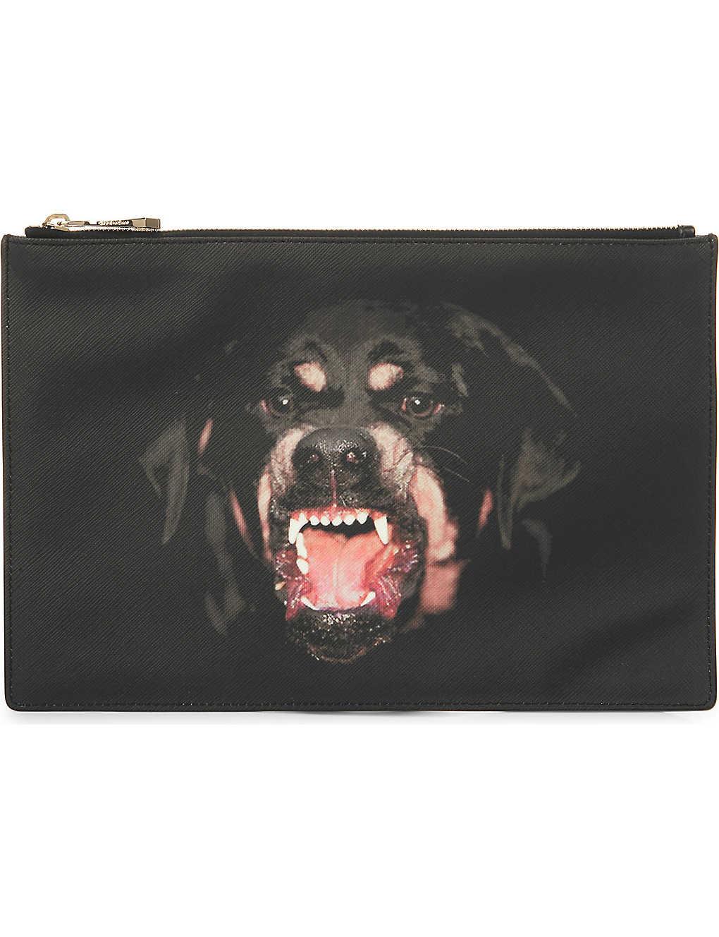 d36c1e4e73 GIVENCHY - Rottweiler medium pouch | Selfridges.com