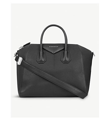 ... GIVENCHY Antigona Sugar medium soft-grained leather tote (Black.  PreviousNext 945b2d9502825