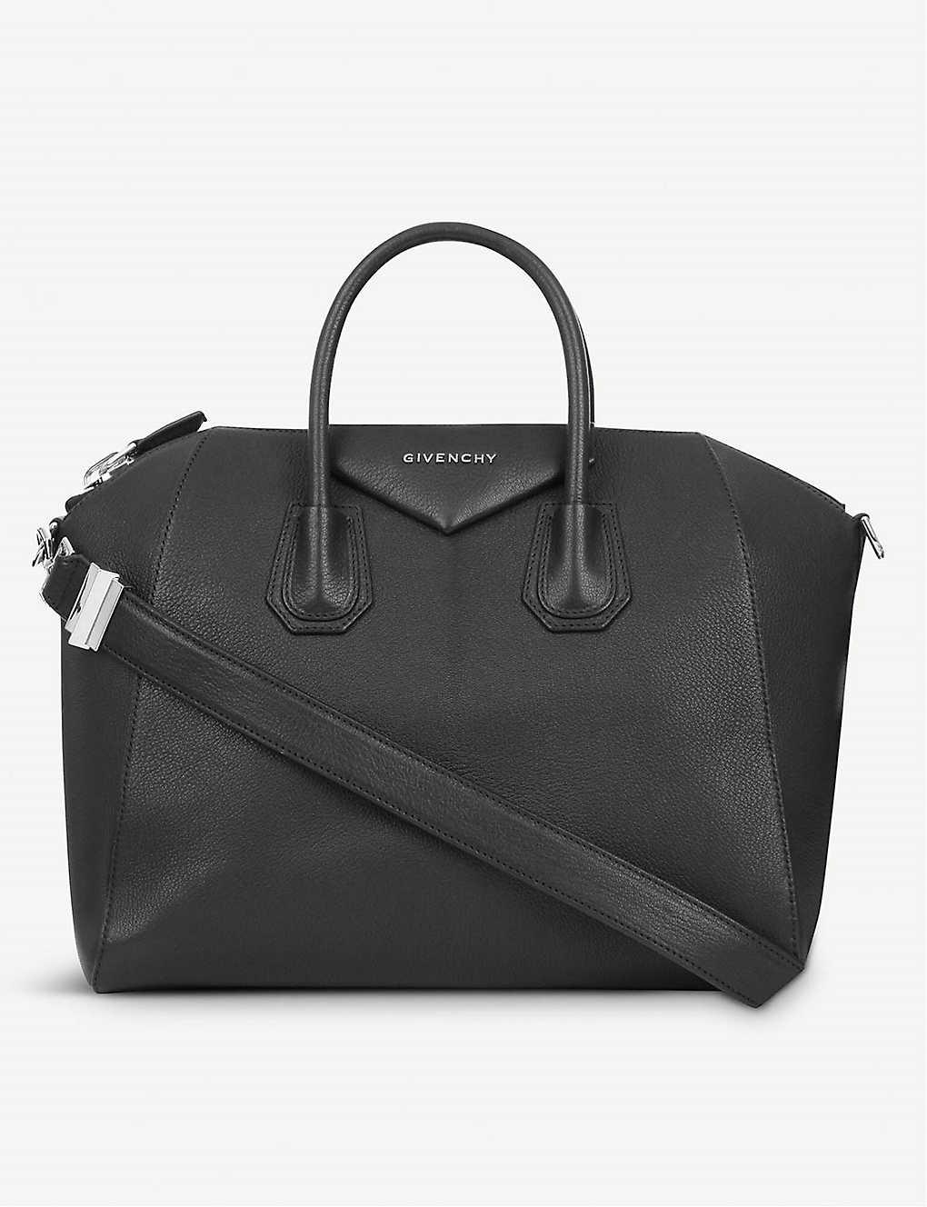 3eeaea6a2f2 GIVENCHY - Antigona Sugar medium soft-grained leather tote ...