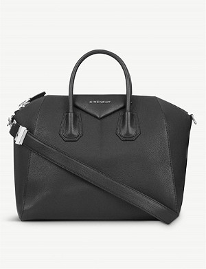 GIVENCHY Antigona 糖中等软粒皮革托特包