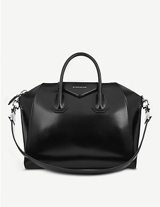 GIVENCHY: Antigona medium leather tote bag