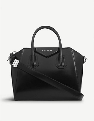 GIVENCHY: Antigona small leather tote bag