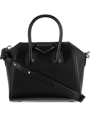 GIVENCHY: Antigona mini leather tote bag