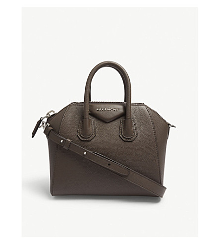... GIVENCHY Antigona mini leather tote (Heather+grey. PreviousNext f37591b7e031f