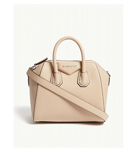 GIVENCHY Antigona mini grained leather tote bag (Powder b5bbc00ca2cfe