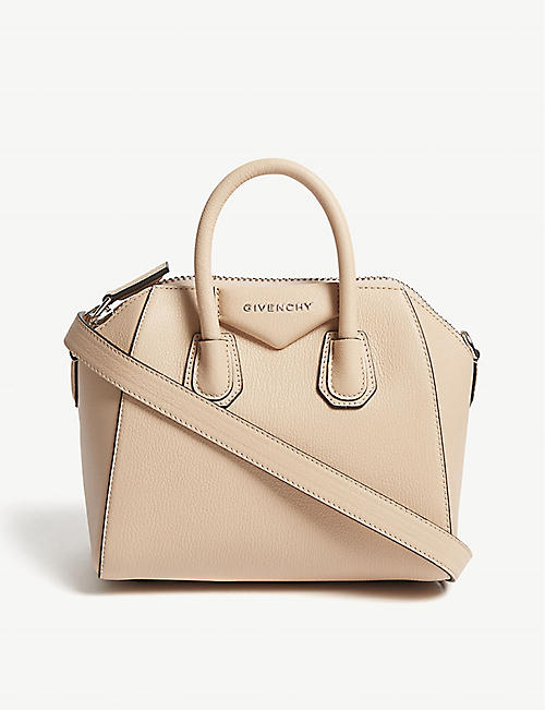 d748280241 GIVENCHY Antigona mini grained leather tote bag