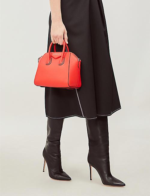 5c3652ed47fc GIVENCHY Antigona mini leather tote