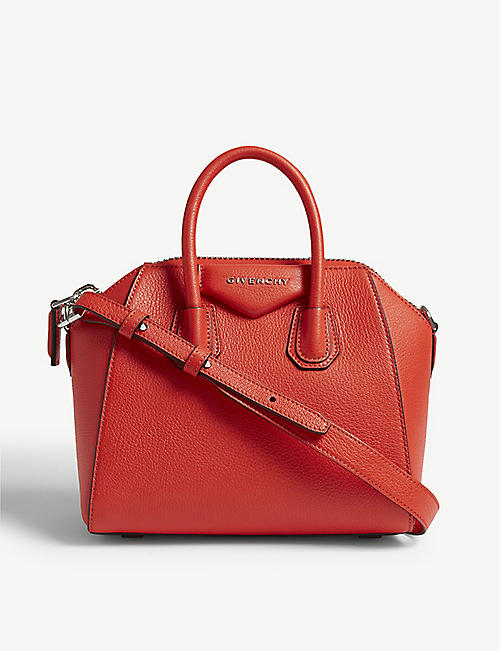 GIVENCHY Antigona mini leather tote 9e312ab161334