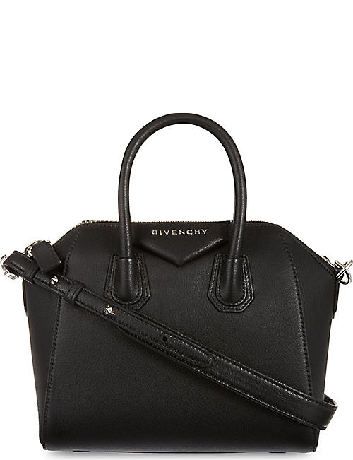 GIVENCHY Antigona mini leather tote bag