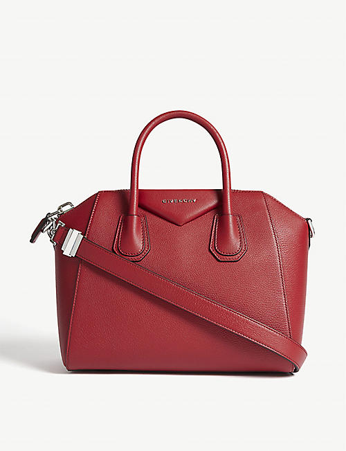 GIVENCHY Antigona sugar small leather tote bag