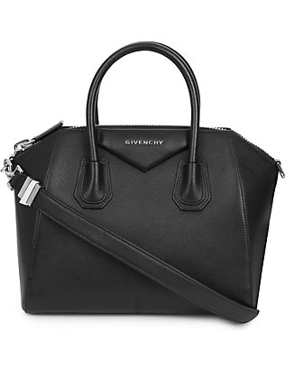 GIVENCHY: Antigona small leather tote