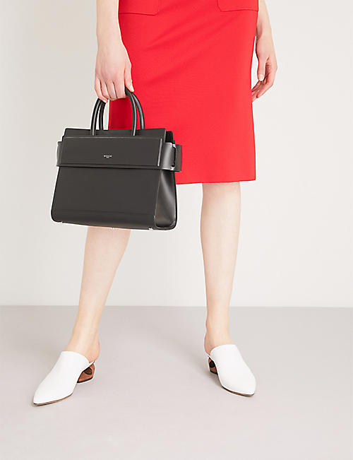 GIVENCHY Horizon small leather shoulder bag