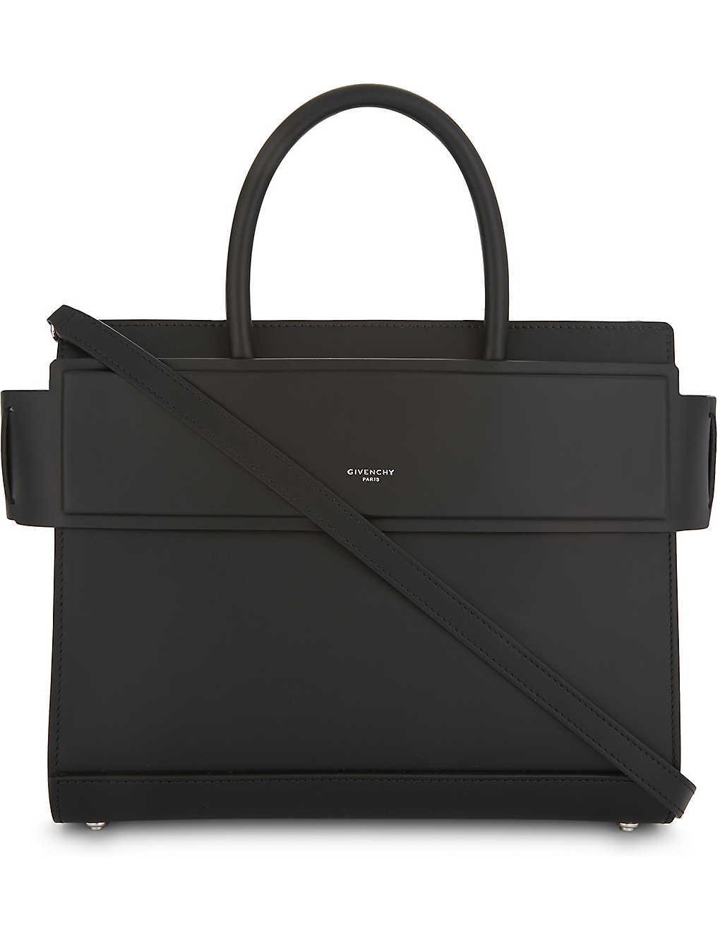 36da7361524be2 GIVENCHY - Horizon small leather shoulder bag