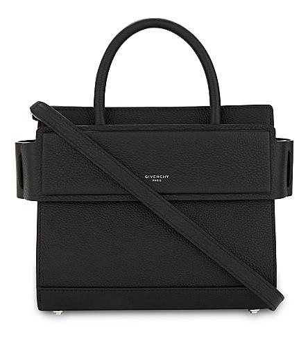 9d7ea374f7 GIVENCHY Horizon leather cross-body bag (Black