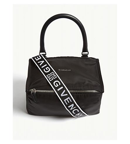 7685aa1694a2 ... GIVENCHY Pandora small nylon messenger bag (Black. PreviousNext