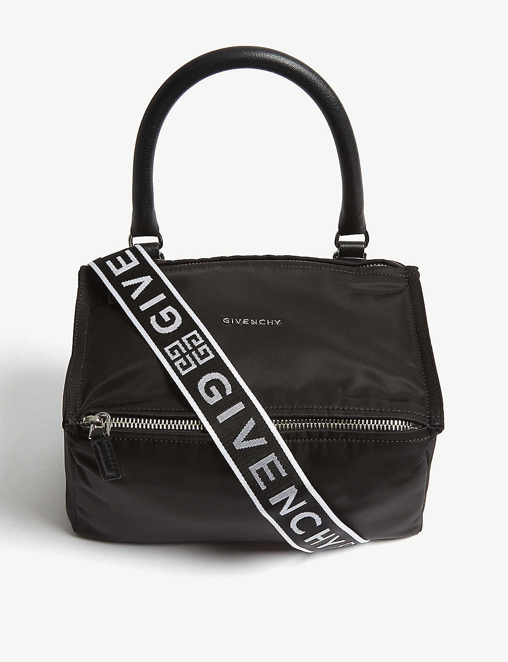 34e2bde5249 GIVENCHY - Pandora small nylon messenger bag | Selfridges.com
