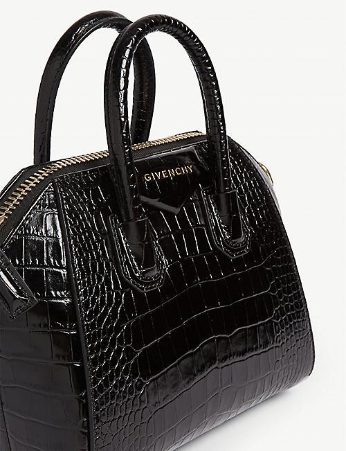 8dccb8a1e4b GIVENCHY Antigona medium croc-embossed leather tote bag · Quick Shop