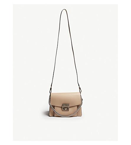 476e1dbaf024 GIVENCHY GV3 leather shoulder bag (Powder