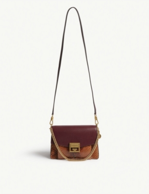 GIVENCHY GV3 leather shoulder bag
