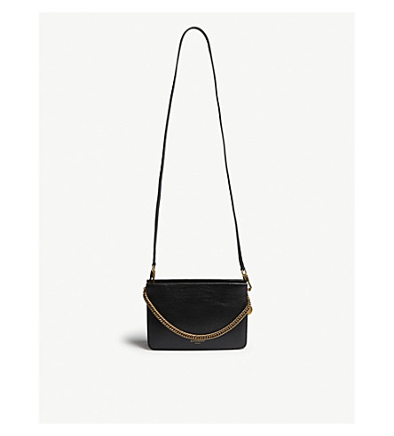 GIVENCHY - Cross 3 leather cross-body bag  f75859ab00e02