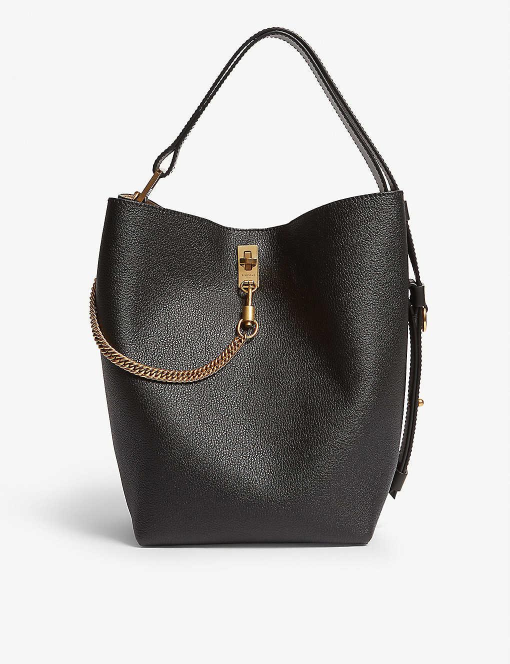 f72d61f7419 GIVENCHY - GV leather bucket bag | Selfridges.com