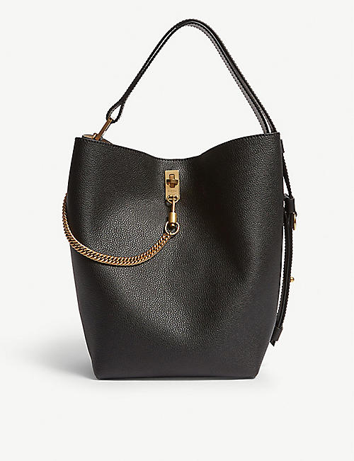 GIVENCHY GV leather bucket bag