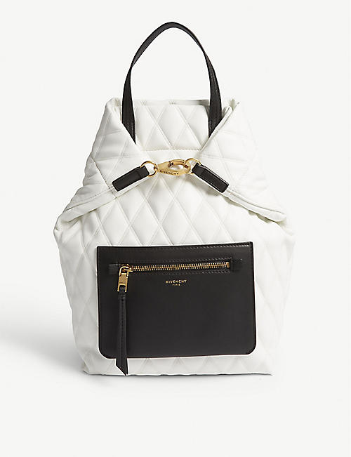 ba95f69151 GIVENCHY Quilted backpack