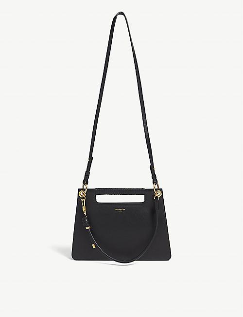 3d4f3b3f39ec4 GIVENCHY Whip medium leather shoulder bag