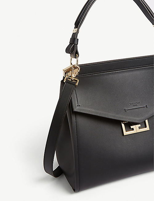 GIVENCHY Mystic large leather top handle bag