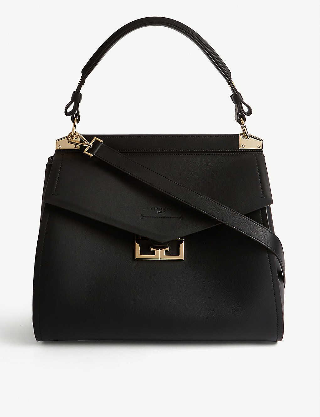 196cfe90158 GIVENCHY - Mystic large leather top handle bag | Selfridges.com
