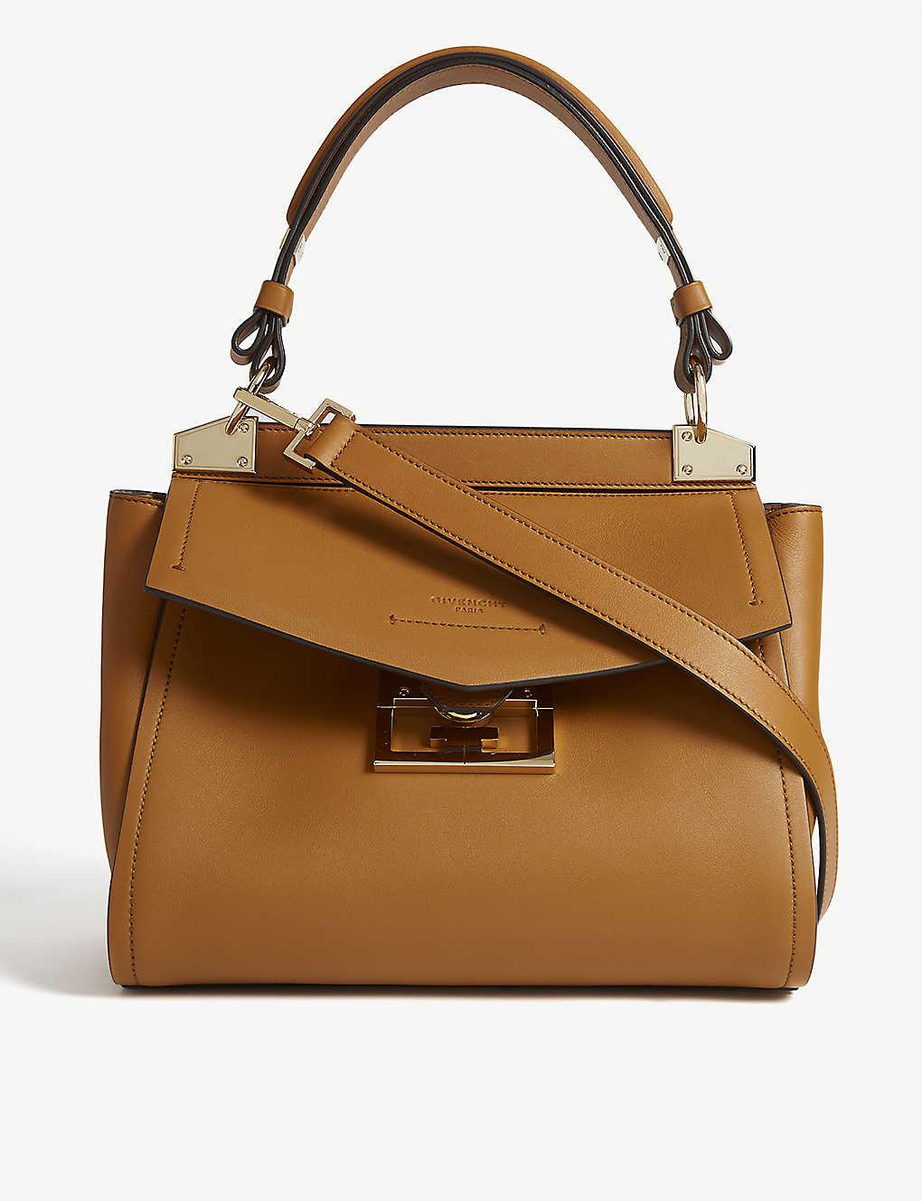 4be24ed4de1 GIVENCHY - Mystic small leather top handle bag | Selfridges.com