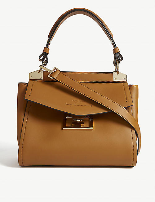 f9f5507f905 GIVENCHY Mystic small leather top handle bag