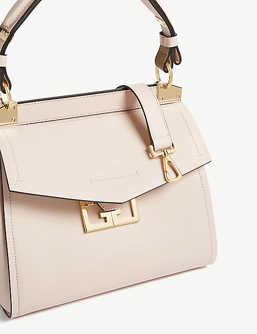 GIVENCHY Mystic small leather top handle bag