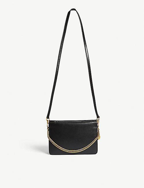 90a594427b7ee GIVENCHY Leather shoulder bag